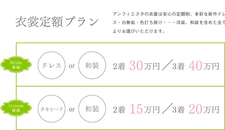 衣裳価格表